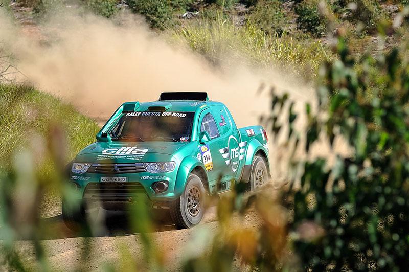 MS Rally Team enfrentará um roteiro inédito de 2.917 quilômetros - Foto:  Gustavo Epifanio