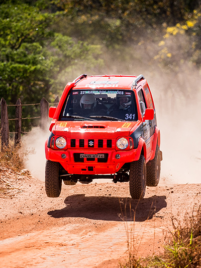 Suzuki Jimny do Sertões (Foto: Victor Eleuterio)
