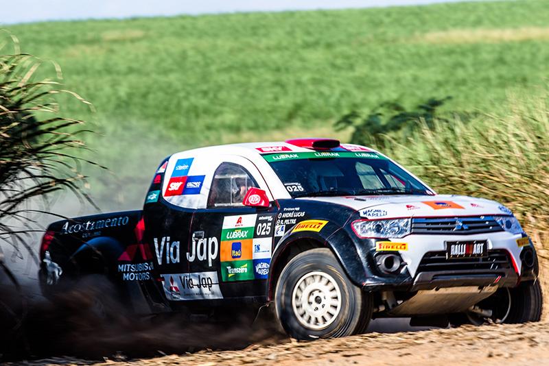 Serão três provas de 35 quilômetros cada - Foto: Tom Papp / Mitsubishi