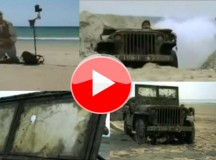 Detector de Metal localiza Jeep 1942 da II Guerra enterrado na praia