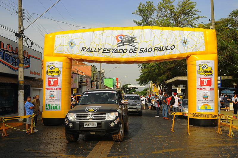 Rally Estado de São Paulo será a final da Copa do Brasil de Regularidade Foto: Paulo Valente
