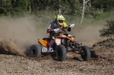 Os quadriciclos enfrentarão a diversidade de terrenos da região de Itupeva (Luciano Santos/SigCom)