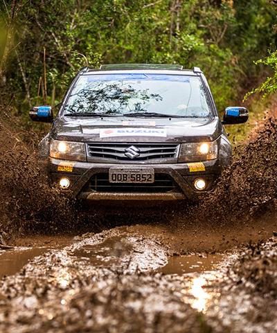 Muitos desafios nas trilhas do Suzuki Off Road (Foto: Murilo Mattos)