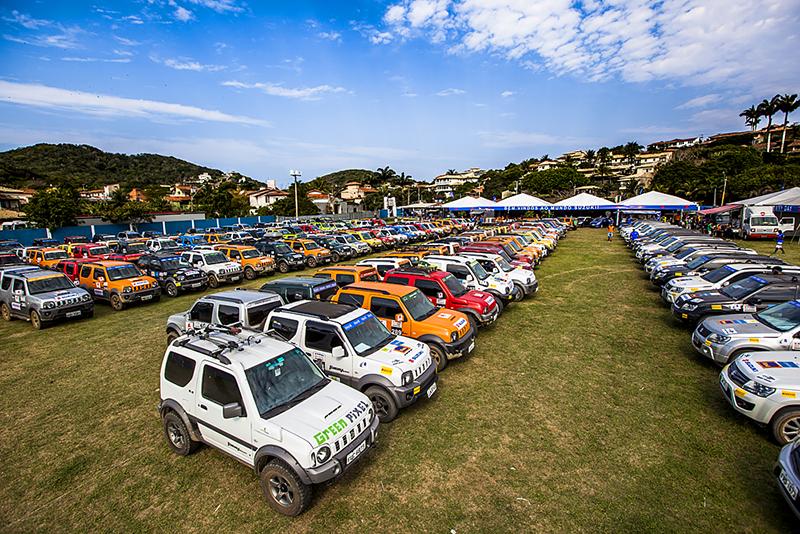 219 carros marcaram presença (Foto: Murilo Mattos)