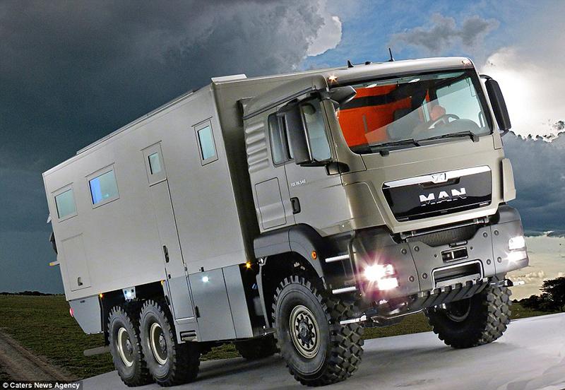 O verdadeiro caminhão dos sonho de todos viajantes off road