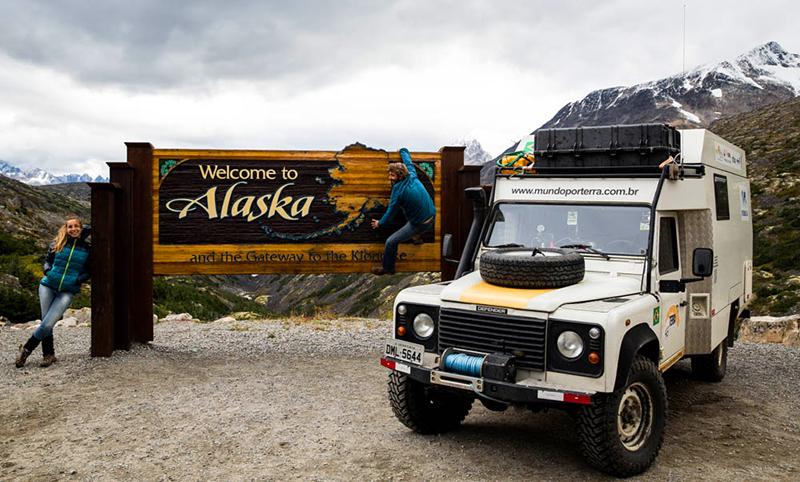 Visitando pela terceira vez o Alasca