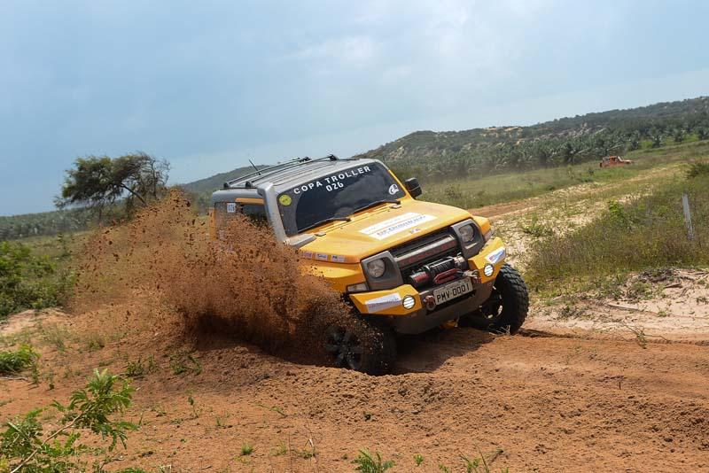 Muita adrenalina e emoção na etapa nordeste - Foto: Doni Castilho