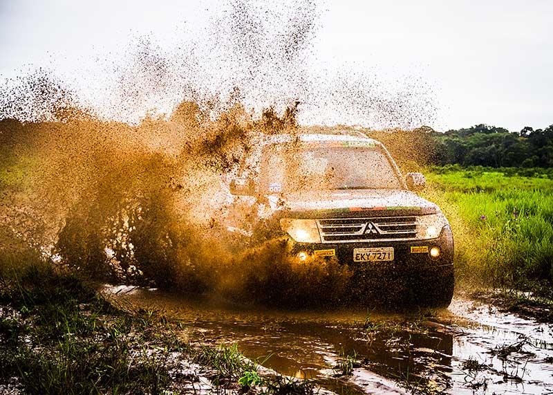 Podem participar do evento veículos da linha L200 e Pajero 4x4 - Foto:  Adriano Carrapato / Mitsubishi