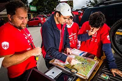 Areá da prova será a maior da temporada, com 1100 km² - Tom Papp / Mitsubishi