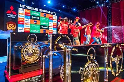 No final da etapa, os melhores de cada categoria subiram ao pódio  Foto: Cadu Rolim/Fotovelocidade
