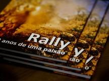Capa do livro Rally – 10 anos de uma paixão (Foto: Sanderson Pereira/Divulgação)