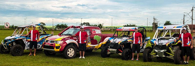 Divino Fogão Rally Team vai disputar Rally de barretos com formação completa (Foto: Donizetti Castilho/DFotos)