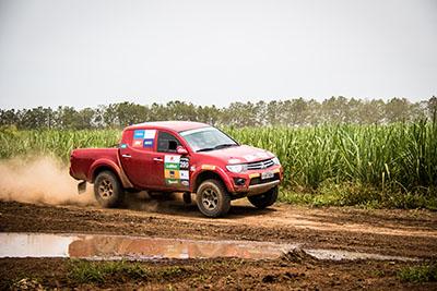 Primeira etapa terá 3 provas de aproximadamente 29 km  - Foto:  Adriano Carrapato / Mitsubishi