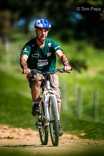 Bike foi um dos desafios do Cross Day - Foto: Tom Papp / Mitsubishi