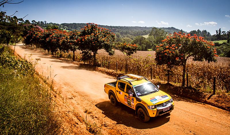 Paisagens fantásticas ao longo das trilhas - Foto:  Adriano Carrapato / Mitsubishi