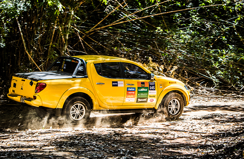 Provas desafiaram os competidores - Foto:  Adriano Carrapato / Mitsubishi