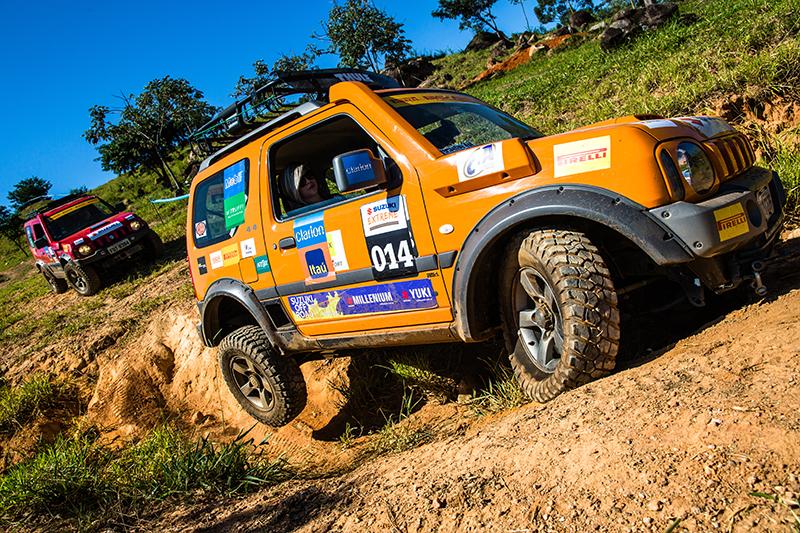 O Suzuki Extreme é para quem quer encarar obstáculos e muitas dificuldades - Foto: Tom Papp / Mitsubishi