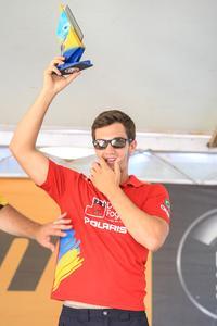 Bruno Varela subiu no pódio em todas as etapas da Polaris Cup 2015 (Foto: Luciano Santos/DFotos)