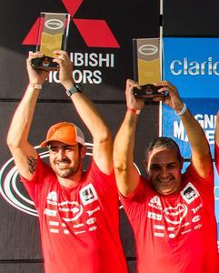 Bianchini /Caio: três temporadas de pódios na Mitsubishi Cup - Foto:  Cadu Rolim