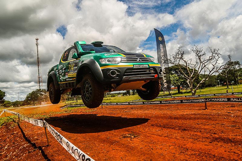 A dupla da MS Rally estará presente no Rally RN 1500  (Sanderson Pereira/Photo-S Imagens)