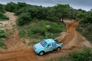 Fontoura/Minae: segundo na Pró Brasil e terceiro mais rápidos da geral