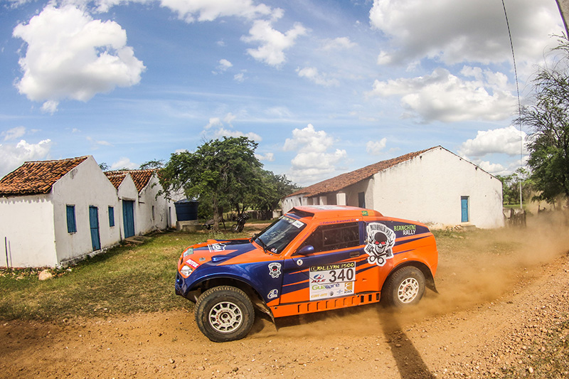 Bianchini Rally fechou dia 3 entre os TOP 5 na geral - Foto:  Sanderson Pereira/Photo-S
