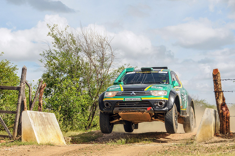 MS Rally conquistou a terceira posição no RN 1500 pela categoria Protótipos  (Sanderson Pereira/Photo-S Imagens)