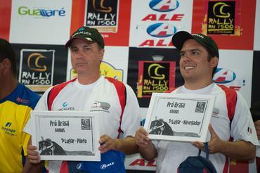 Facco/Ribeiro: Campeões do RN 1500 na Pró Brasil - Foto:  Fabio Davini/Dfotos