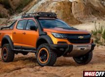 Nova Chevrolet S10 equipada para off roaders