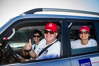 Amigos e famílias podem participar das provas - Foto:  Adriano Carrapato / Mitsubishi
