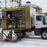 Unimog é utilizado como Foodtruck na Finlândia