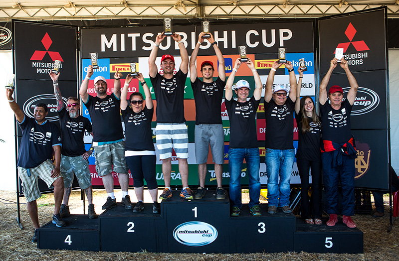 As melhores duplas são premiadas a cada etapa e somam pontos para o campeonato - Ricardo Leizer/Mitsubishi