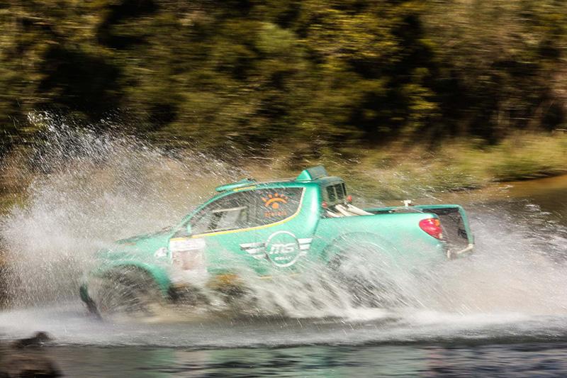 A MS Rally conquistou o quinto lugar na categoria Protótipos  (Sanderson Pereira/Photo-S Imagens)