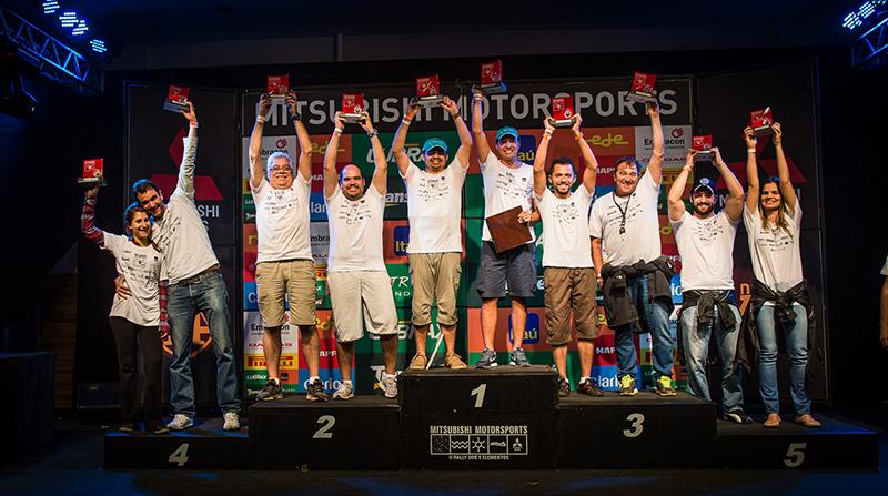Pedro Junio e Alessandro Bonsucesso venceram a etapa de Vinhedo da Mitsubishi - Foto: Tom Papp/FotoVelocidade