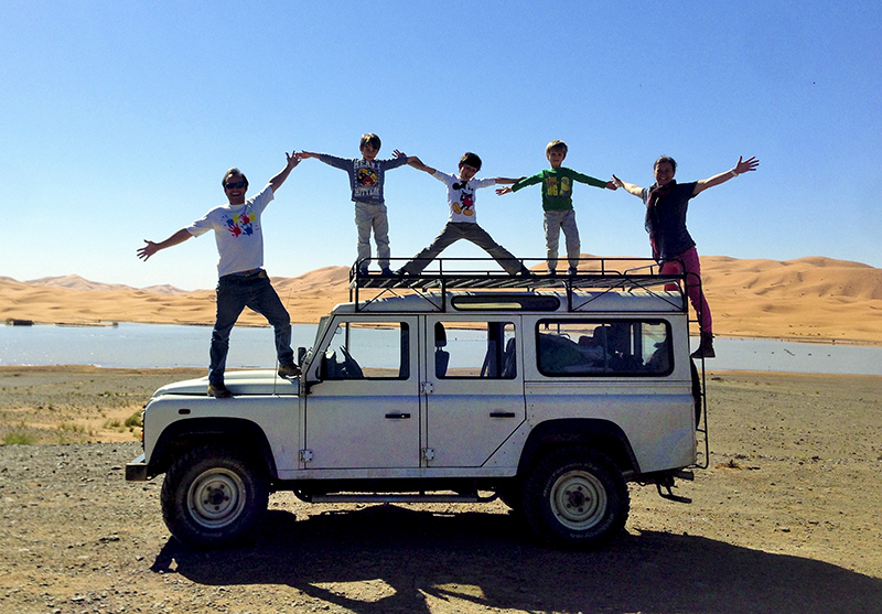 Foto:  XM Family, Portugal to Morocco