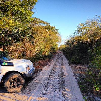 Levantamento 3 etapa do Piaui Rally Camp 3