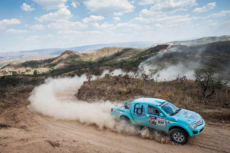 Dupla Fontoura/Josi fez 11 ultrapassagens e venceu na Super Production  (Marcelo Maragni/Fotop)