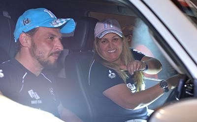 A piloto Sandra Dias já começou como ponteira na categoria  (Michael Oliveira)