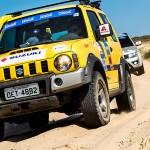Belas trilhas de Fortaleza (CE) são palco de prova de rali e passeio 4×4 da Suzuki