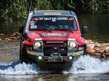 Troller T4 é o campeão da categoria no Rally dos Sertões com dupla catarinense de pai e filho