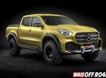 Concept X-CLASS stylish explorer: design progressista com aspecto SUV