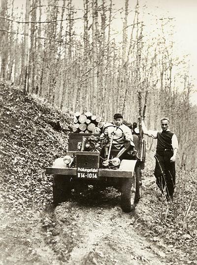 O primeiro teste drive 9 de outubro 1946
