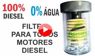 Filtro de Diesel para seu 4×4 não beber água na trilha