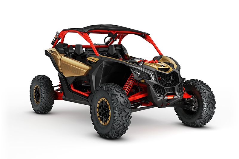 2017-maverick-x3-x-rs-turbo-r-gold-and-can-am-red_3-4-front