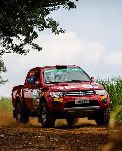 Os competidores farão também provas em kartódromo e terródromo - Foto: Adriano Carrapato/Mitsubishi