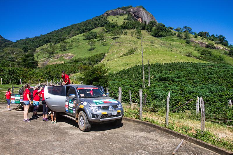 Belas paisagens estarão no roteiro - Foto:  Gabriel Barbosa / Mitsubishi