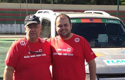 A dupla Roberto Bontempo e Leonardo Martins estará na categoria Máster  (Divulgação)
