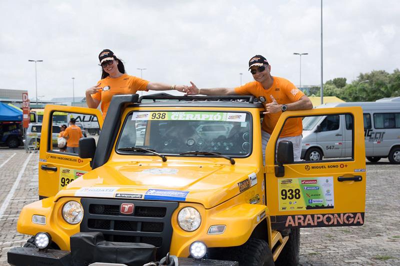 A dupla Miguel Sono e Rosimeri Vasconcelos Dias disputará pela Graduados  (Divulgação)