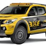 """Mitsubishi Motors prepara L200 Triton Sport para programa """"Anjos"""" da cidade de São Paulo"""