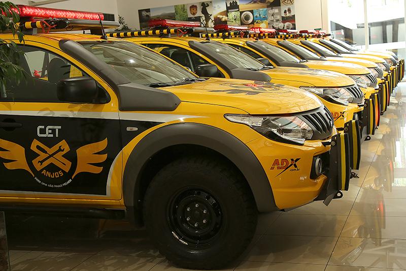 Veículos foram entregues para a Prefeitura de São Paulo